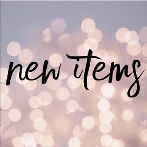 New Arrivals to my Closet!